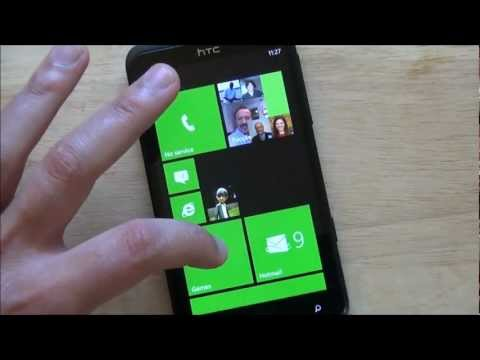 Windows Phone 7.8 on the HTC Titan (Custom ROM)