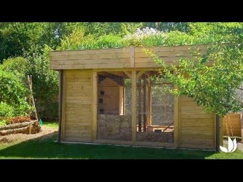 Visite de notre poulailler sur-mesure - Jardinerie Truffaut TV