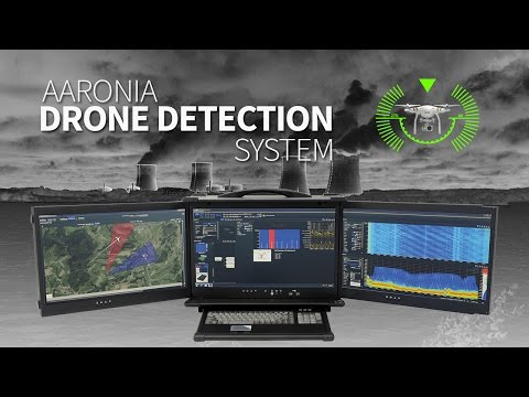 Aaronia Drone Detection System / Detect and stop UAV´s