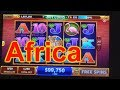 "HOUSE OF FUN Casino Slots How To Play ""AFRICA"" On Your Cell Phone"