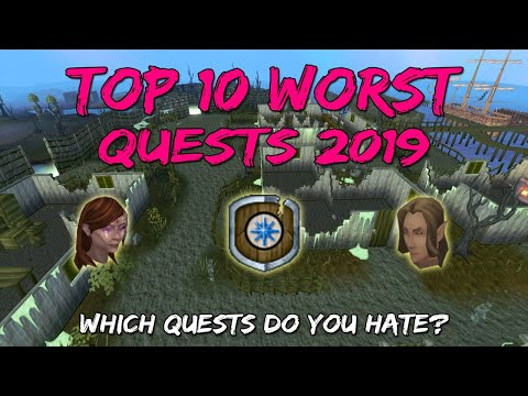Top 10 Worst Quests 2019 [Runescape 3] - YouTube