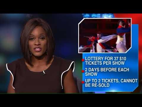Hamilton Ticket Lottery
