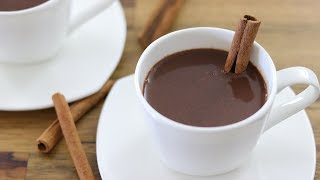 Mexican Style Hot Chocolate Recipe