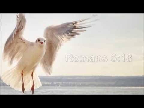 Romans 6:18 (karaoke - lyrics displayed)