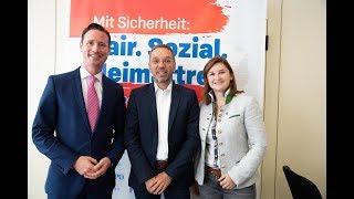 Komplettaufzeichnung: Pressekonferenz mit Herbert Kickl in Salzburg!