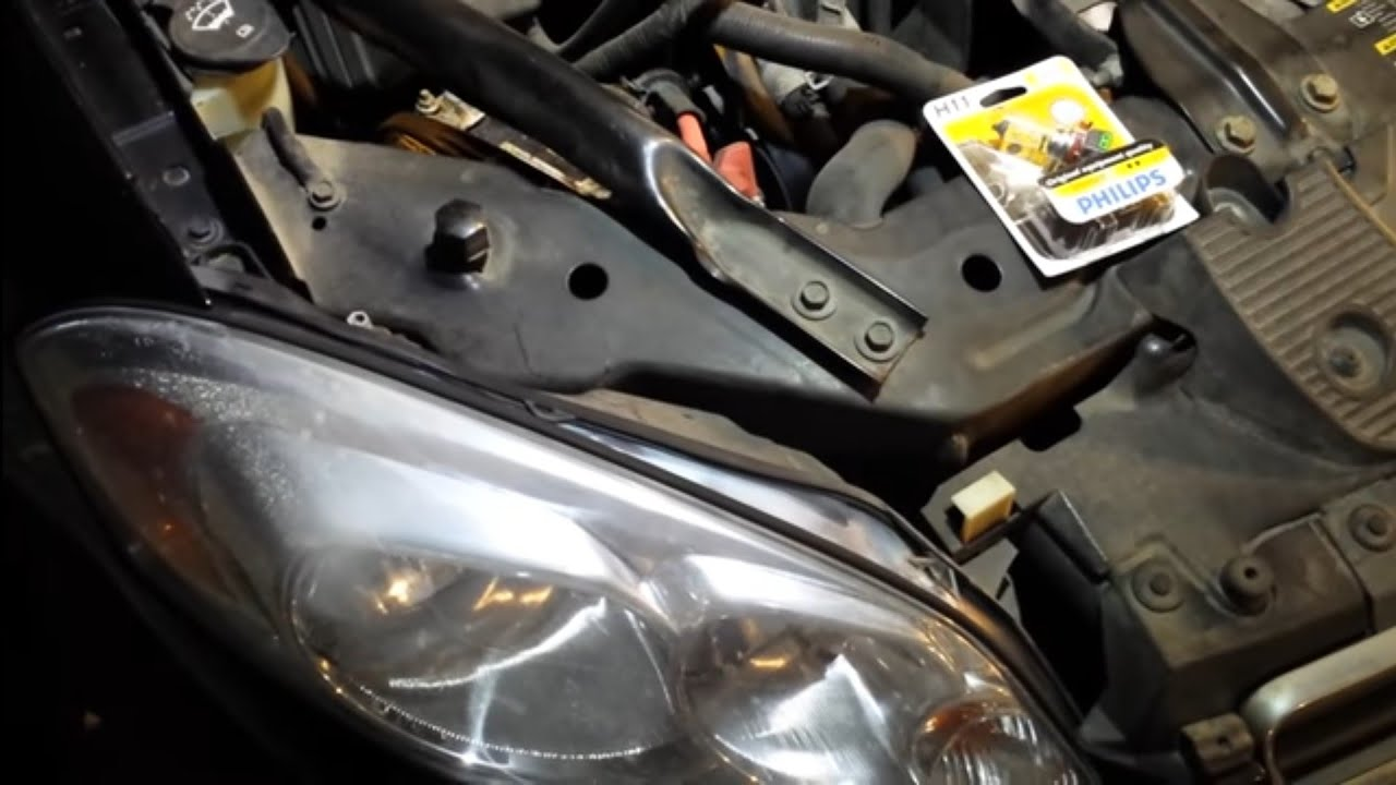hight resolution of 2008 chevy impala headlight bulb replacement