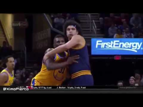 Anderson Varejao Embarrassing Flopping Compilation