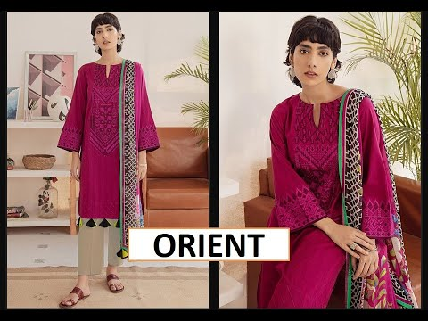 ORIENT JACQUARD COLLECTION NEW DESIGNS OF WINTER SUITS 2020