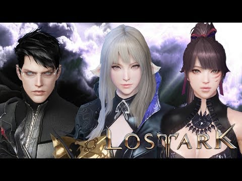 Lost Ark Online - Final CBT Character Creation And All Class Combat Preview