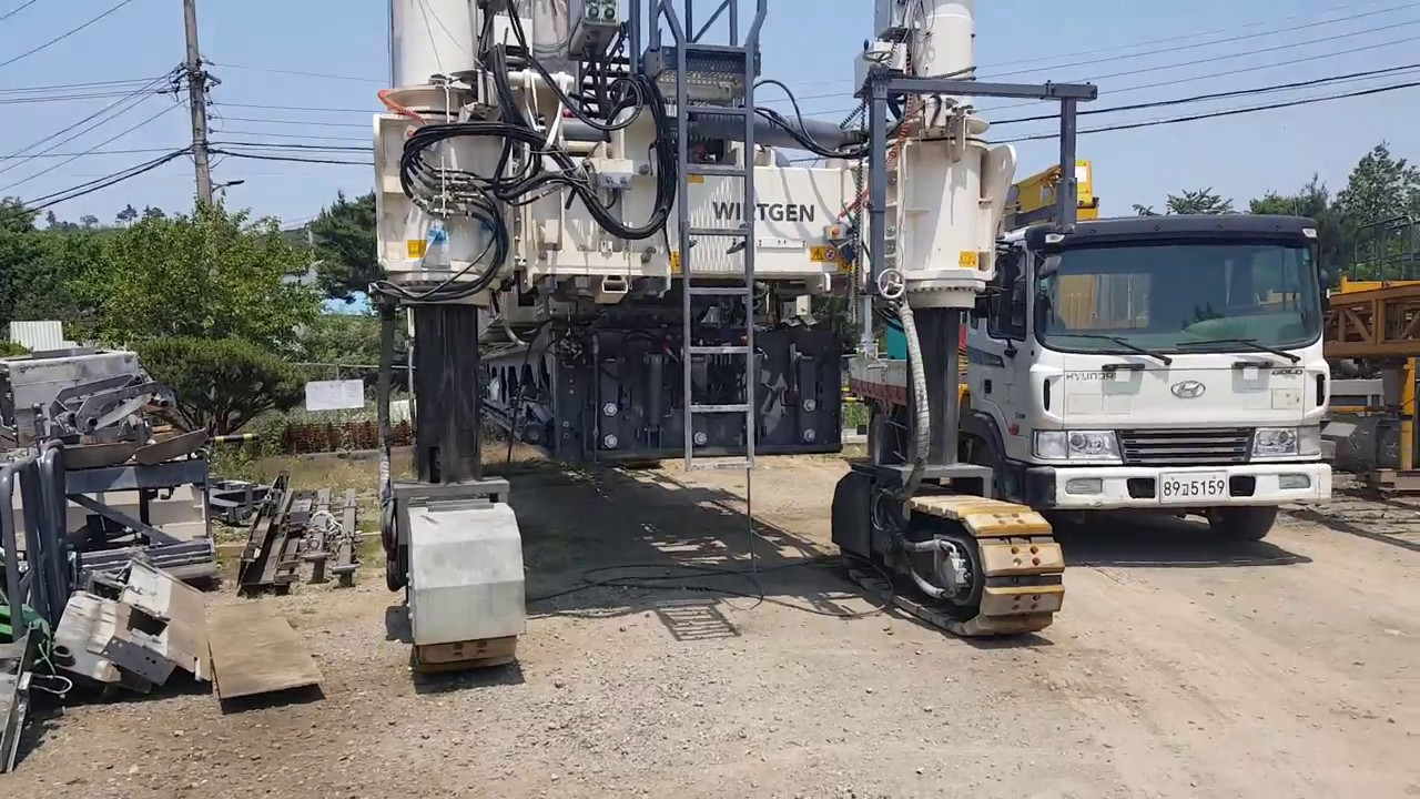 [ Winwin Used Machinery ] Used concrete finisher Wirtgen SP1200 2016yr For  sale