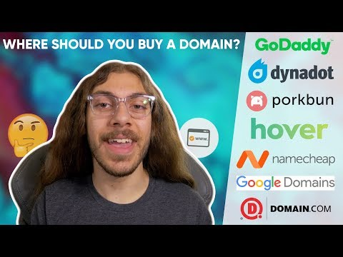 Where should you buy a domain name? (2020) | 7 Options Compa