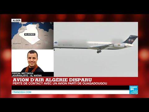 Avion d'Air Algérie : la compagnie toujours sans nouvelle de l'avion AH517