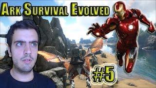 Ark Survival Evolved - Bölüm 5 - Demir Adam [Türkçe]
