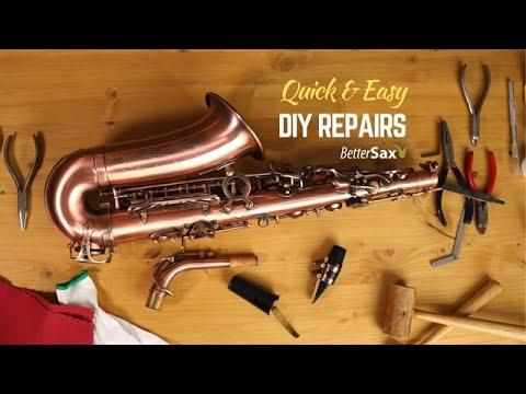 Quick & Easy DIY Sax Repairs