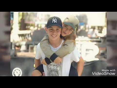 Arian y su novio 😘😘