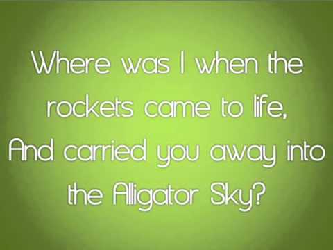 Owl City - Alligator Sky (New Song - High Quality with Lyrics Video)