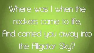 Repeat youtube video Owl City - Alligator Sky (New Song - High Quality with Lyrics Video)