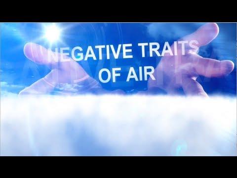 Zodiac Bad Traits -- Air Signs - Gemini, Libra, and Aquarius
