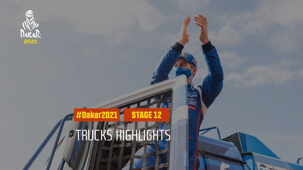 #DAKAR2021 - Stage 12 - Yanbu / Jeddah - Truck Highlights