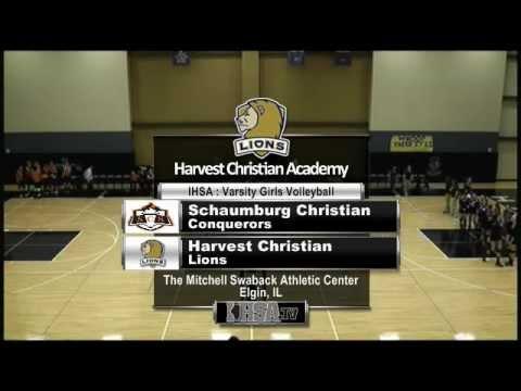 Volleyball Varsity - Harvest Christian Academy vs. Schaumburg Christian
