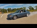 Supercharged Mercury Grand Marquis burnout