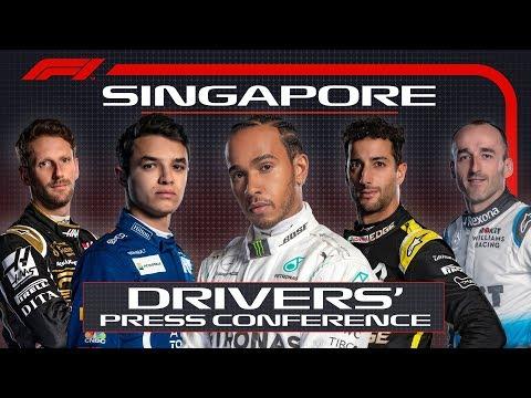 2019-singapore-grand-prix:-pre-race-press-conference