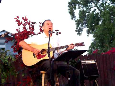 """Steve Landry singing """"Somewhere Out There"""""""
