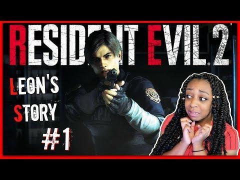 RUN IT BACK AGAIN!! | Resident Evil 2 Leon Story Episode 1 Gameplay!!!