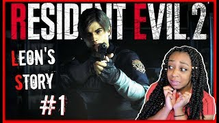 RUN IT BACK AGAIN!! | Resident Evil 2 Leon Story Episode 1 Gameplay!!!
