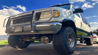 1993 Ford E350 Quigley 4x4 Van Project