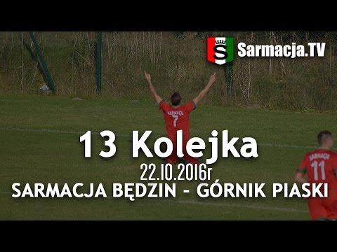 13 kolejka, Sarmacja Będzin - Górnik Piaski, 22.10.2016,