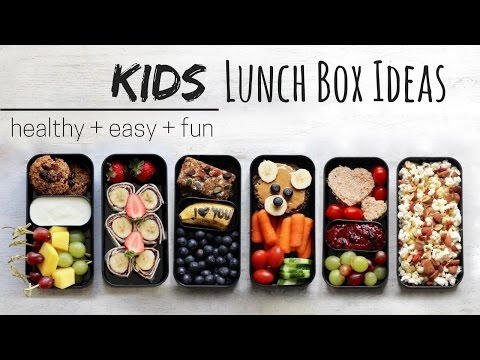 LUNCH IDEAS FOR KIDS » Vegan + Healthy (bento Box)