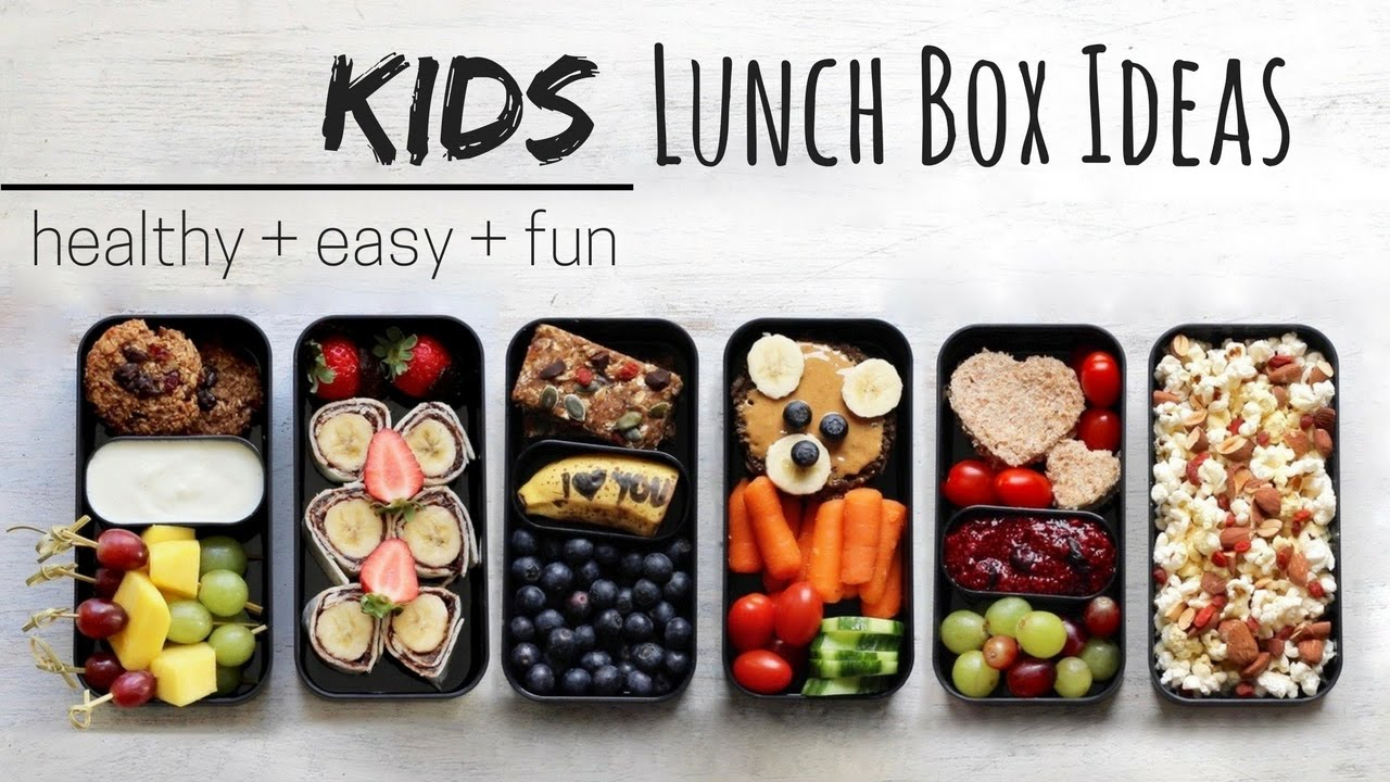 LUNCH IDEAS FOR KIDS » vegan + healthy (bento box) - YouTube