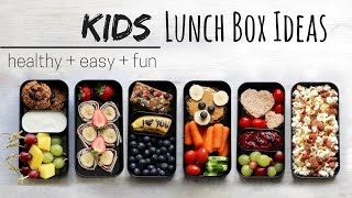 LUNCH IDEAS FOR KIDS » vegan + healthy (bento box)