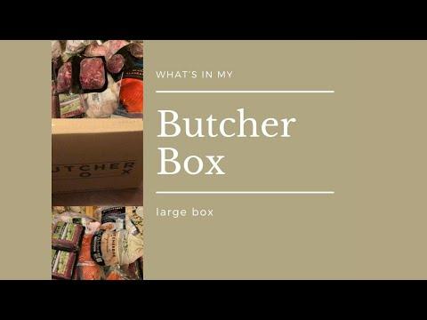 ButcherBox 2021 (large box) Unboxing