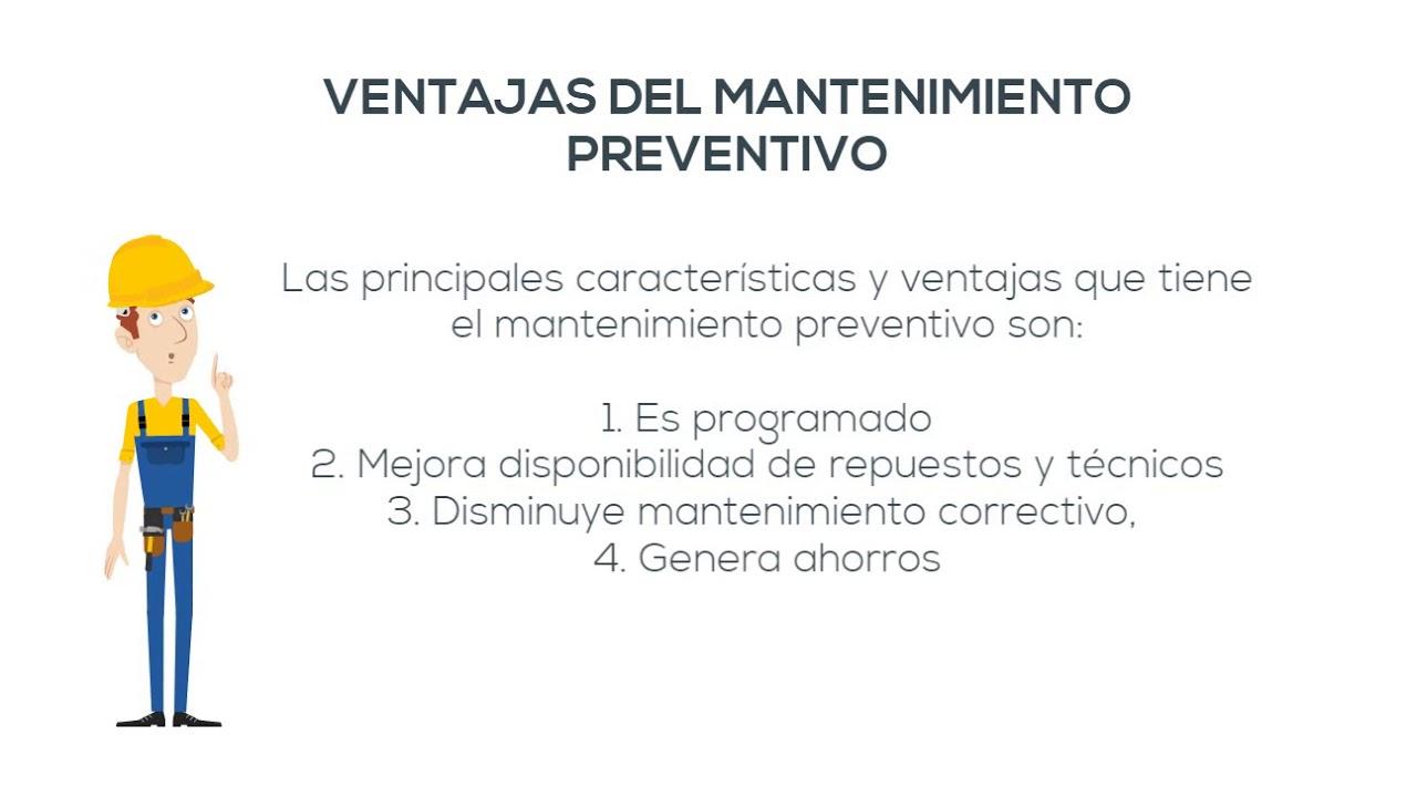 Ventajas y desventajas del mantenimiento preventivo youtube for Preventivo arredamento casa