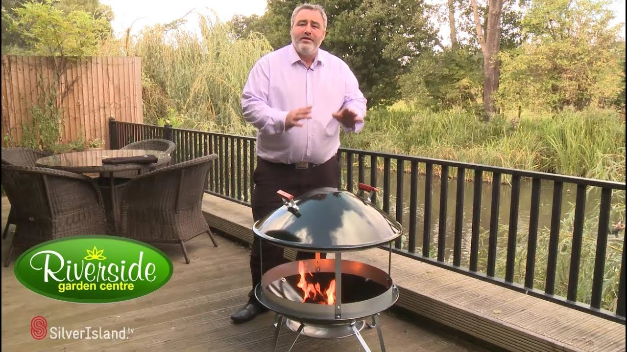 Product demonstration video - The Weber Firepit ...