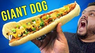 HOT DOG GIGANTE (25 CM) | HECHO EN CASA | EL GUZII