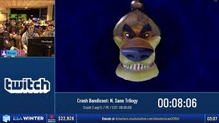 #ESAWinter19 Speedruns - Crash Bandicoot: N. Sane Trilogy [Crash 3 any%] by Murcaz