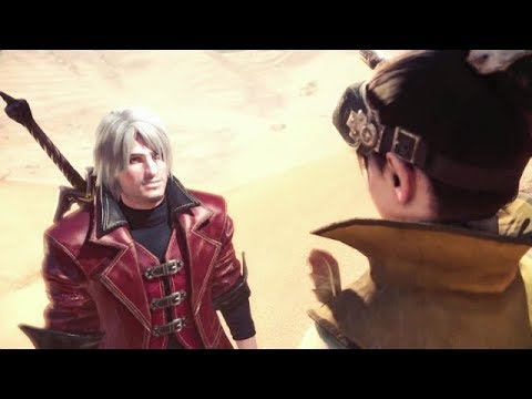 Monster Hunter: World Devil May Cry All Cutscenes As Dante