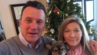 Holiday Message from Richard, Sue and Buddy.