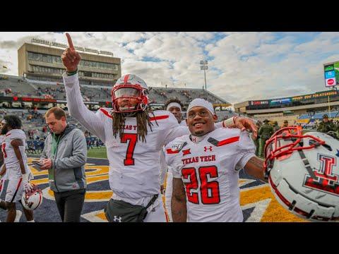 Texas Tech Vs. West Virginia Football Highlights