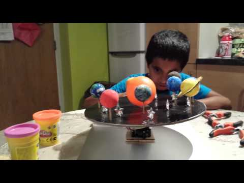 How to make a Solar System model (part 3) - YouTube
