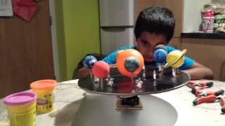How to make a Solar System model (part 3)