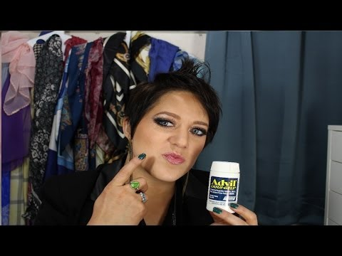 How To Get Rid Of Pimples With Liquid Advil - Makeup Artist Secret