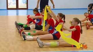 Allenamento Volleyball team Russia