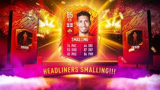 INSANE VALUE CHRIS SMALLING HEADLINERS SBC! - FIFA 20 Ultimate Team
