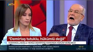 Karamollaoğlu, Selahattin Demirtaş olayına açıklık getirdi!