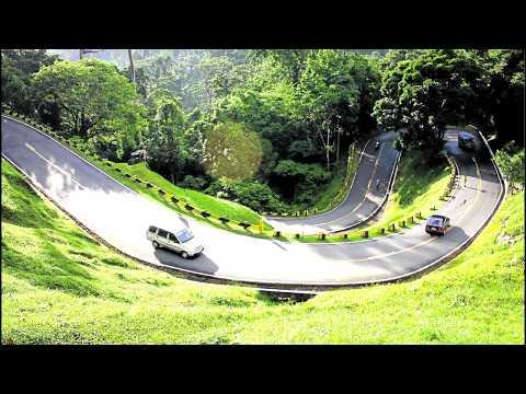 The famous zigzag road in Atimonan Quezon
