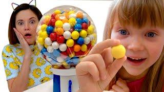 Настя не хочет - вредные сладости и конфеты